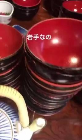 ▲大島優子狂嗑40碗一口麵。(圖/翻攝大島優子IG)