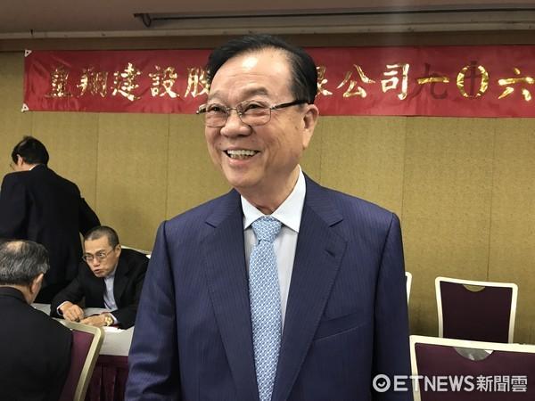 ▲皇翔建設董事長廖年吉。(圖/記者陳佩儀攝)