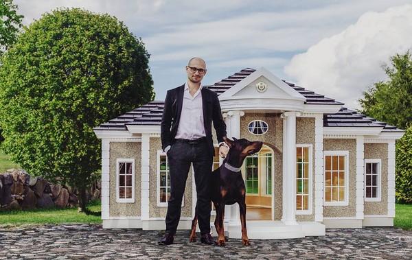 ▲豪華狗屋要價600萬台幣(圖/翻攝自Hecate Verona。)