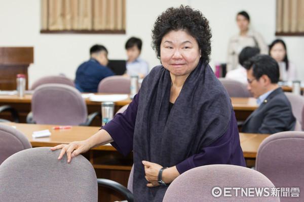 立法院前瞻建設公聽會,陳菊(圖/記者季相儒攝)