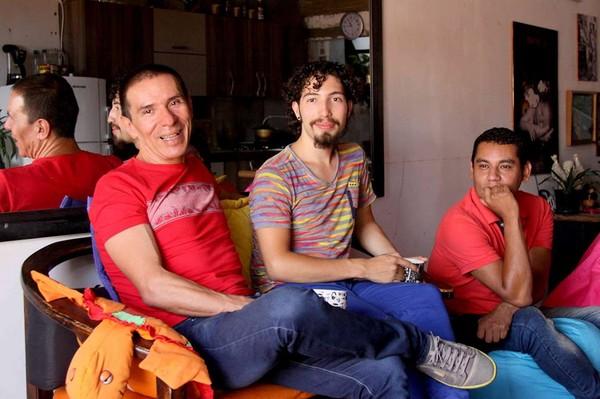 ▲▼哥倫比亞通過國內第一件三人同性婚姻。(圖/翻攝自臉書Manuel José Bermúdez Andrade)