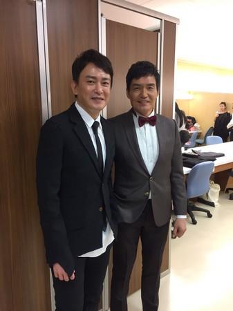 ▲王識賢、 施易男、霍正奇出席民視20年台慶。(圖/民視提供)
