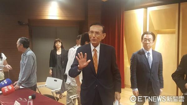 ▲永豐金代理董事長邱正雄。(圖/記者徐珍翔攝)