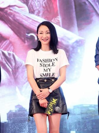▲▼霍建華、周迅、郭濤、許鞍華出席《明月幾時有》上海電影節首映記者會。(圖/双喜提供)