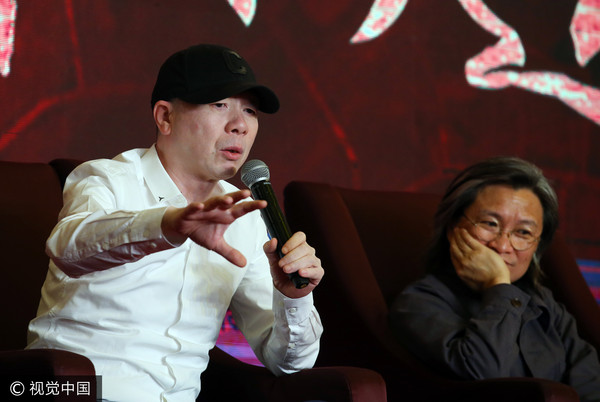 ▲▼馮小剛、陳可辛出席上海電影節論壇。(圖/CFP)