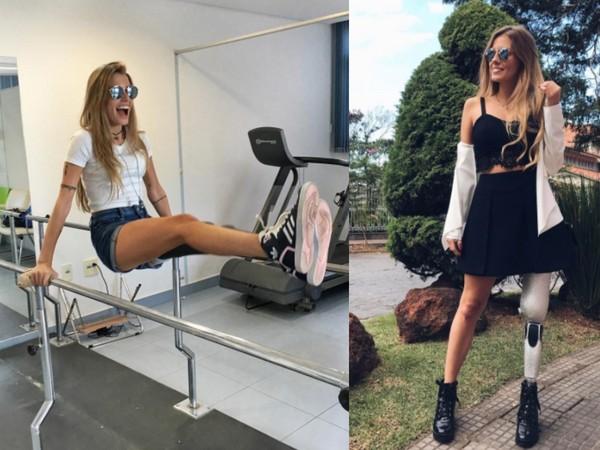 ▲截肢女模Paola Antonini(圖/翻攝自paola_antonini Instagram)