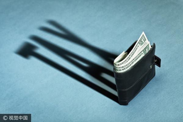 ▲稅,繳稅,金錢(圖/視覺中國CFP)