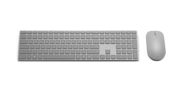 微軟Modern鍵盤、滑鼠組低調登場。(圖/翻攝自官網)