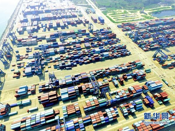 中國港口。(圖/翻攝自新華網)