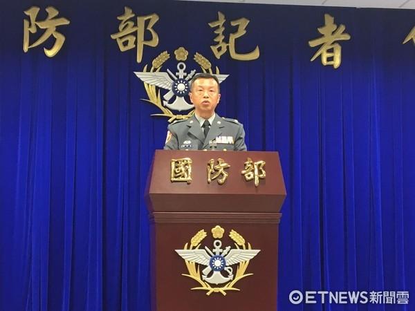 ▲國防部發言人陳中吉少將。(圖/記者楊佳穎攝)