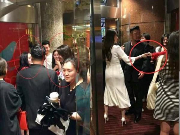 ▲楊冪、劉亦菲在上海國際電影節合體。(圖/取自微博)