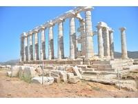 希臘本島看夕陽最美的地方!神之美景「波賽頓海神廟」