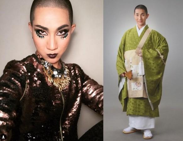 ▲日本僧侶西村宏堂不但出櫃,還是一名專業化妝師。(圖/翻攝自西村宏堂 Instagram)