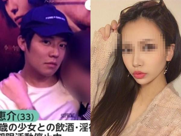 ▲小出惠介和17歲少女一夜情,和解金曝光。(圖/翻攝自推特、日網)