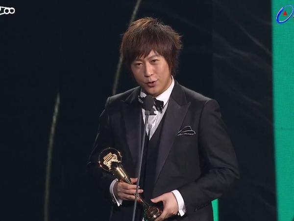 第28屆流行音樂金曲獎頒獎典禮五月天阿信。(圖/翻攝自YouTube)