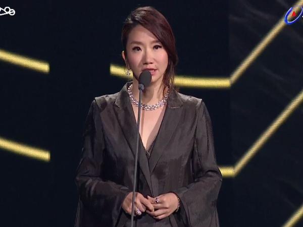 第28屆流行音樂金曲獎頒獎典禮陶晶瑩。(圖/翻攝自YouTube)