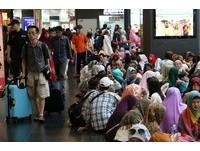 穆斯林「開齋節」 台鐵估:車站大廳共湧進5萬人