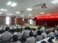 台東警分局「民防訓練」 局長親自示範警棍術滿座叫好