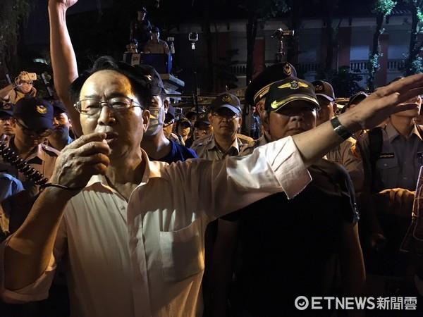 ▲軍公教抗議年金改革 。(圖/記者徐政璿攝)