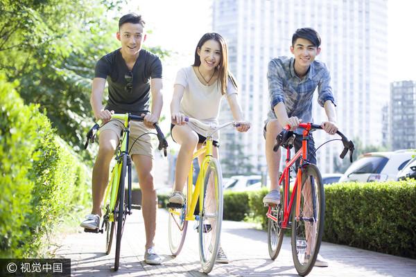 ▲聊是非用圖,男女,兩性,自行車,腳踏車,社團,人際,朋友。(圖/CFP)