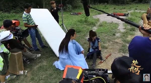 ▲趙麗穎主演的《楚喬傳》收視破了2年該時段記錄。(圖/翻攝自《楚喬傳》微博)