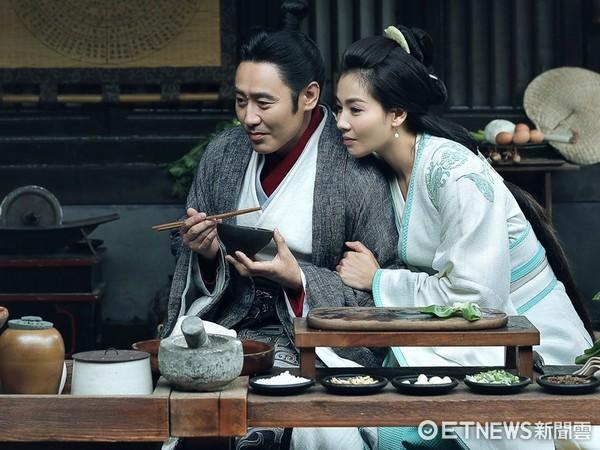 ▲吳秀波和劉濤飾演司馬懿夫妻檔。(圖/愛奇藝台灣站)