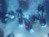 綠島公館國小完成海底畢業典禮 延期3次澆不熄熱情