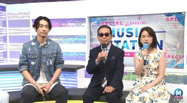 ▲藤岡靛上音樂節目《Music Station》。(圖/翻攝自推特)