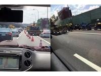 36輛重機衝上國道!遇警攔查「塞車10公里」 民怨PO網正反戰翻