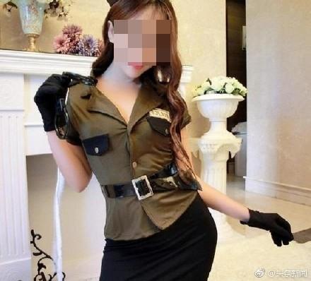 陆疯传南韩性感女警泄机密 图片遭打脸 淘宝情趣衣