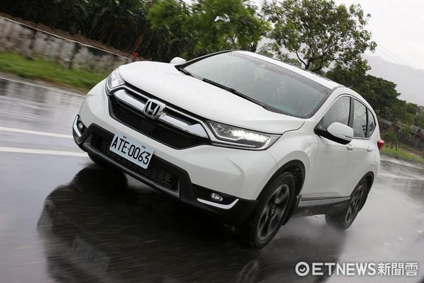 Honda CR-V試駕。(圖/記者張慶輝攝)