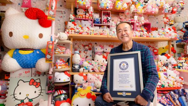 ▲日本阿伯郡治正雄(Masao Gunji)開心獲得金式世界紀錄。