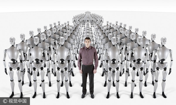 ▲AI人工智慧,機器人(圖/視覺中國CFP)
