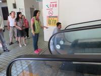 台南保安市場手扶梯 重新「動」起來