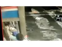 奧客加油不熄火嗆「我就不要啊」巴他頭!工讀生反擊告到底