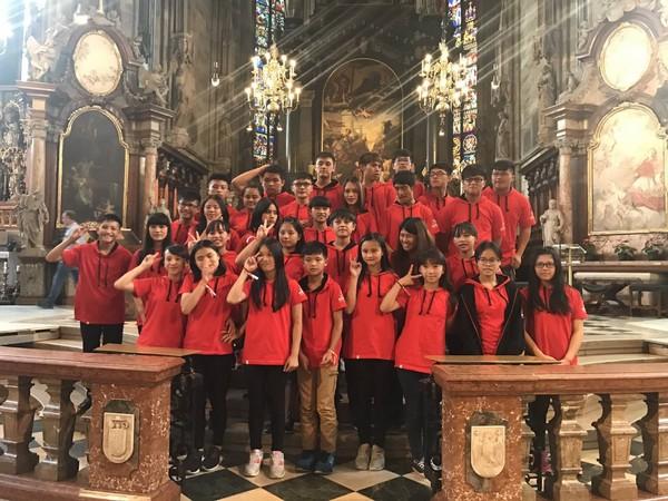 ▲▼南投親愛愛樂在維也納國際青少年比賽拿到第一名。(圖/翻攝愛樂樂團臉書)