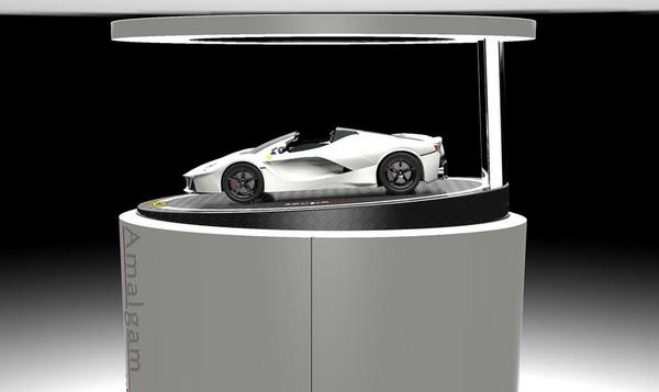45萬的上空馬王哪裡找? 法拉利LaFerrari Aperta推最新限量模型(圖/翻攝自Motor1)
