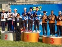 2017亞洲盃射箭賽 中華射箭隊獲3金1銅