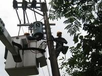 入夏颱風多 台電桃園區處加強防範措施