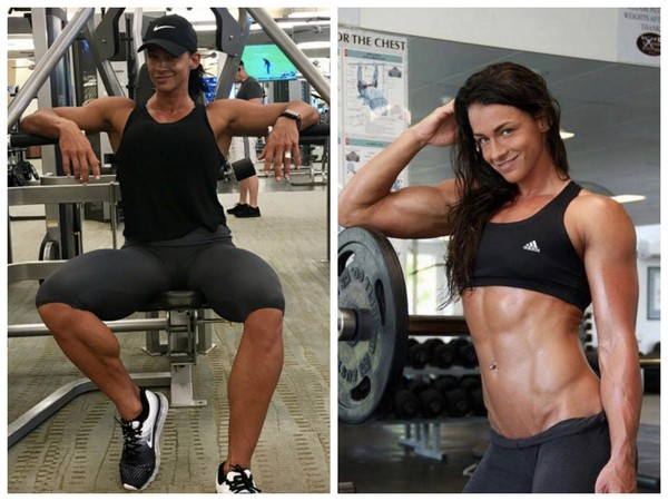 ▲190公分女模強健肌肉Cindy Landolt(圖/翻攝自cindytraining IG)
