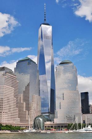 ▲▼美國紐約世界貿易中心一號大樓(Freedom Tower)。(圖/取自維基百科)