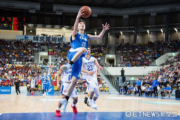 ▲▼瓊斯盃男籃,中華藍對菲律賓,周伯勳。(圖/記者季相儒攝)