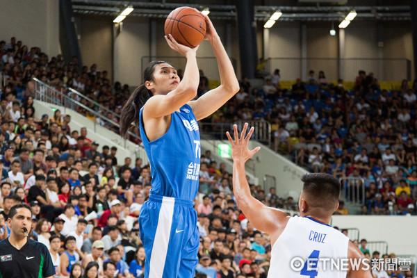 ▲▼瓊斯盃男籃,中華藍對菲律賓,曾文鼎。(圖/記者季相儒攝)