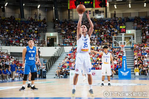 ▲▼瓊斯盃男籃,中華藍對菲律賓,35 萊特。(圖/記者季相儒攝)