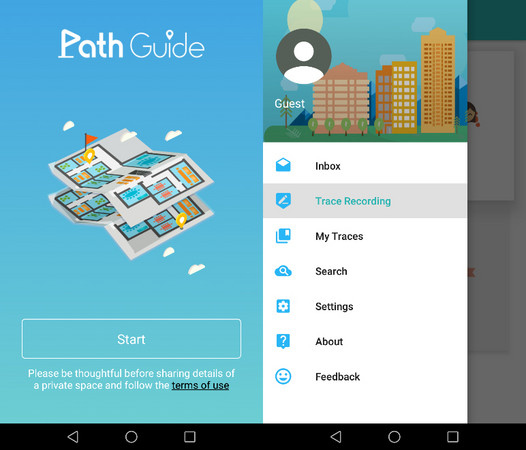 ▲《Path Guide》僅推出於 Android 系統中。 (圖/翻攝自官網)