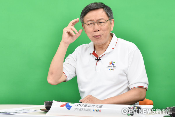 ▲▼《雲端最前線》特別來賓柯文哲市長。(圖/記者李毓康攝)
