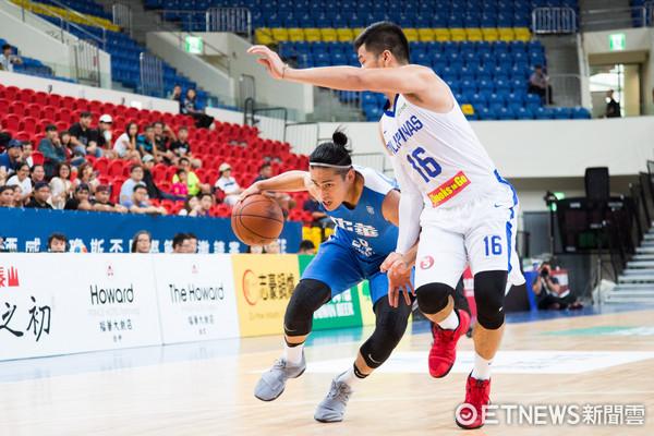 ▲▼瓊斯盃男籃,中華白對菲律賓,陳盈駿。(圖/記者季相儒攝)