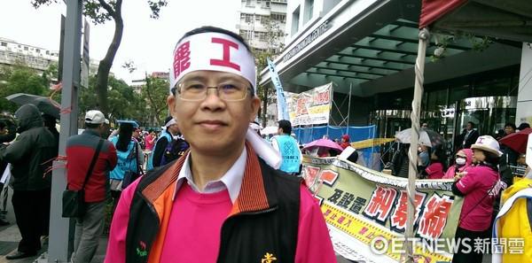 南山人壽企業工會副理事長、中華民國保險業務聯合總工會發起人代表邱俊祺。(圖/資料照)