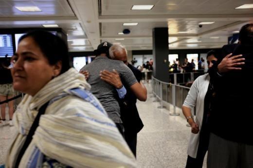 ▲▼ 美國旅遊禁令開放祖父母入境。(圖/路透社)