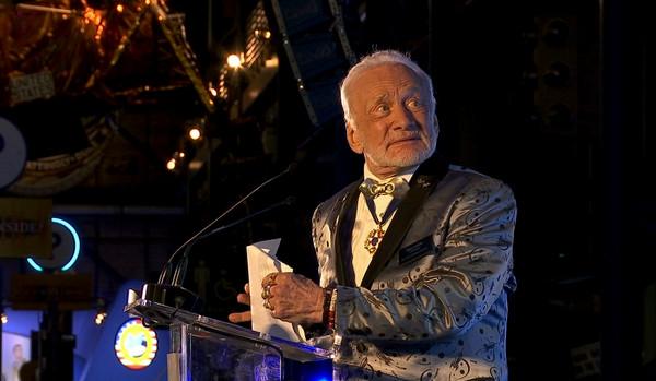 ▲▼第2為登陸月球的太空人艾德林(Buzz Aldrin)             。(圖/達志影像/美聯社)
